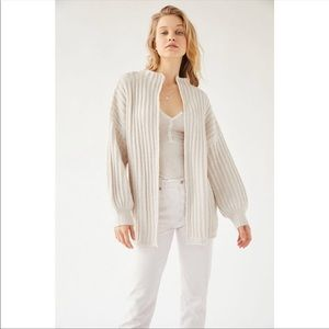 Urban Outfitters open-faced cardigan
